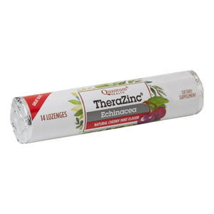 roll of TheraZinc Cherry Lozenges