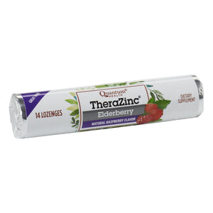 roll of TheraZinc Raspberry flavour Lozenges