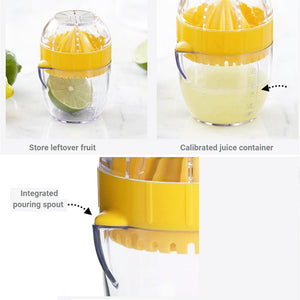 Trudeau Citrus Juicer features
