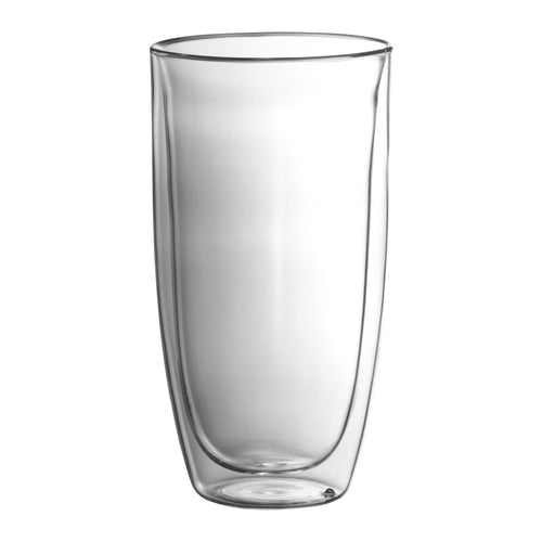 a Trudeau Duetto Double Wall 17 Ounce Glass