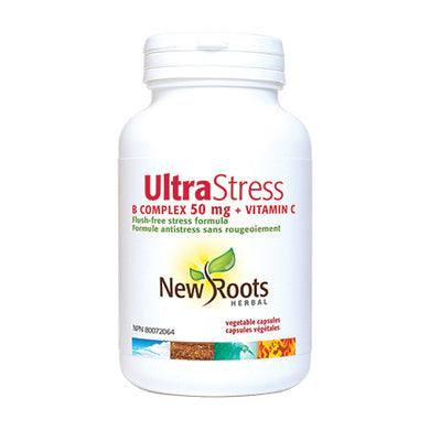 New Roots Herbal UltraStress B Complex + Vitamin C