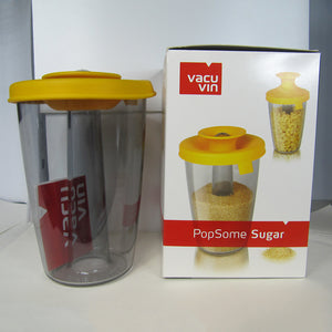 Vacu Vin PopSome Sugar or Rice Dispenser and its box