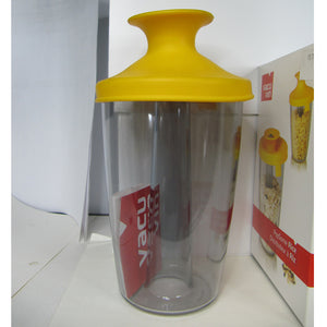 Vacu Vin PopSome Sugar or Rice Dispenser with its top popped up