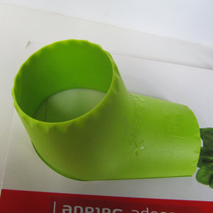 Top view of Side view of Vacu Vin Salad Cutter in package