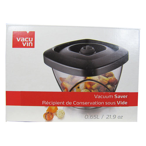 alternate side of the Vacu Vin Vacuum Saver box