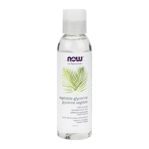 NOW Vegetable Glycerine, 118ml bottle