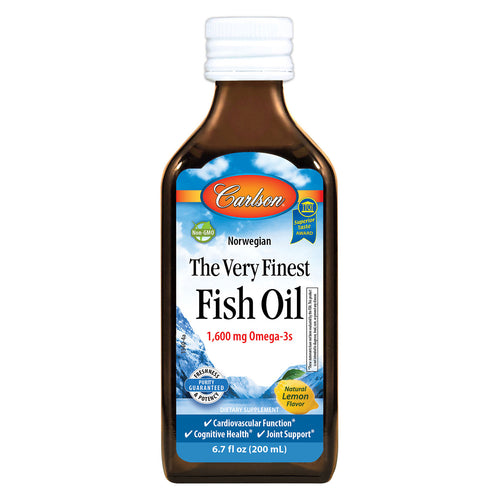 Very Finest Fish Oil, 200 ml