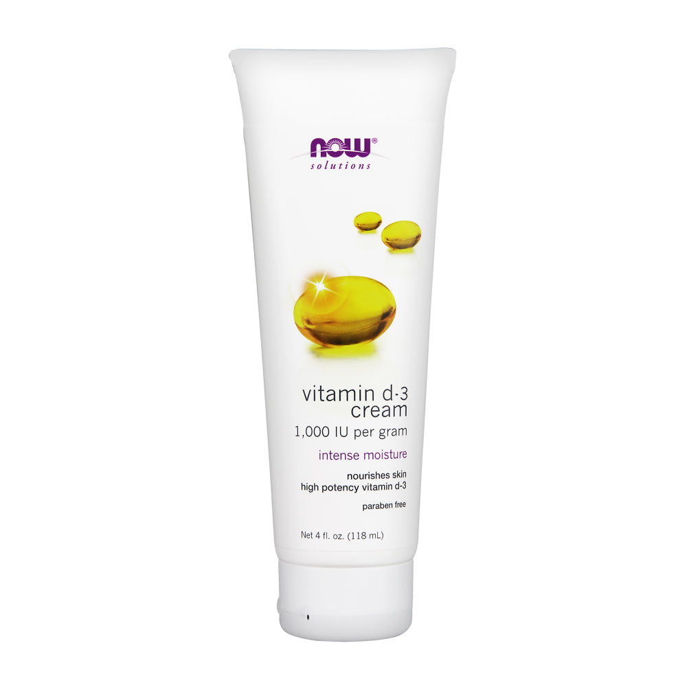 Tube of NOW Vitamin D-3 Cream