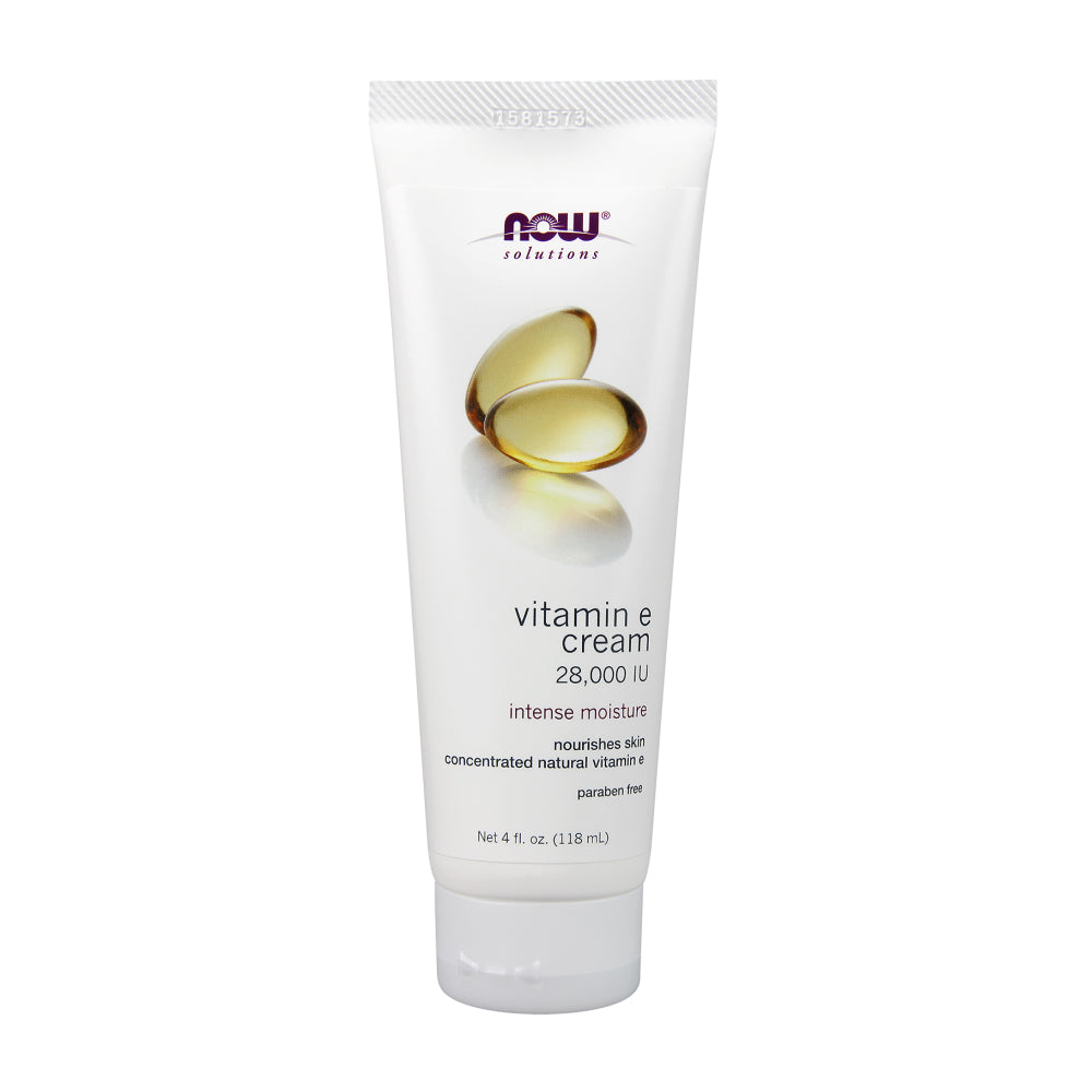 Tube of NOW 28,000 IU Vitamin E Cream