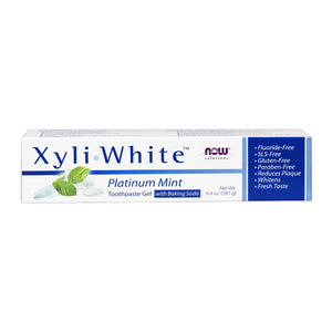 Xyliwhite Platinum Mint with Baking Soda Toothpaste Gel