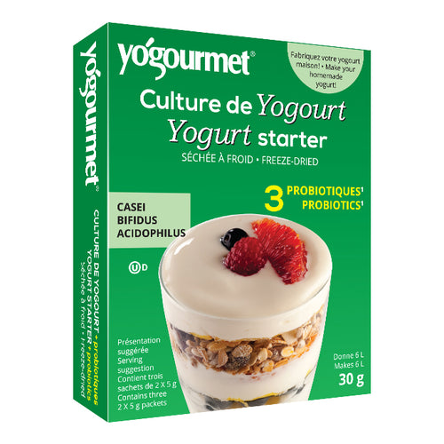 Yogourmet - Yogurt Starter With 3 Probiotics