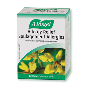 Package for A. Vogel Allergy Relief Tablets