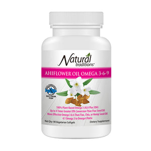 Natural Traditions - Ahiflower Oil (Omega 3-6-9)