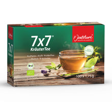 100 Bag box of P. Jentschura 7x7 AlkaHerb Detox Tea