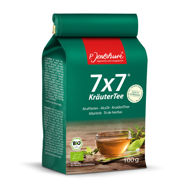 100 gram Bag of P. Jentschura 7x7 AlkaHerb Detox Tea