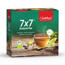 50 Bag box of P. Jentschura 7x7 AlkaHerb Detox Tea