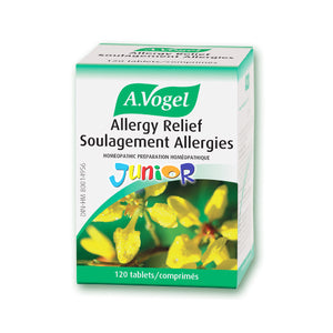 Package for 120 Tablets of Allergy Relief Junior
