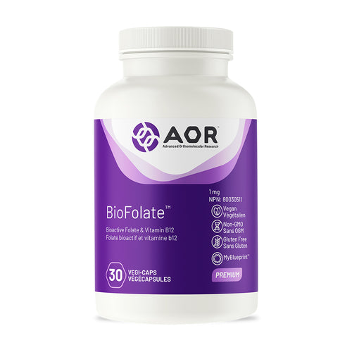 AOR - BioFolate (Folate and Vitamin B12)
