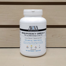Load image into Gallery viewer, Aviva High-Potency Wild Omega-3 Fish Oil