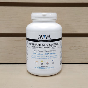 Aviva High-Potency Wild Omega-3 Fish Oil