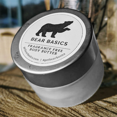 Bear Basics - Body Butter (Fragrance Free)