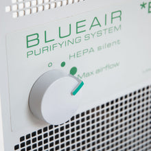 close-up of control for Blueair ECO10 Air Purification System