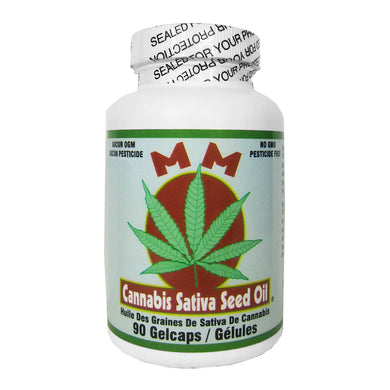 MM - Cannabis Sativa Seed Oil Capsules