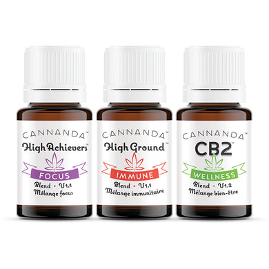 Cannanda - Aromatherapy Terpene Blends