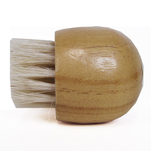 Baudelaire Cedar Complexion Brush, side view