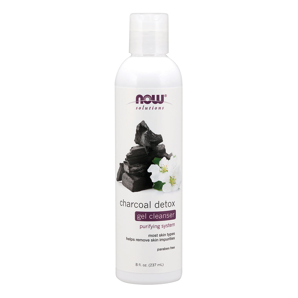 NOW - Charcoal Detox Gel Cleanser