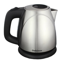 Chef's Choice Compact Cordless Kettle M673, on base