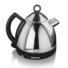 Chef's Choice Cordless Electric Tea Kettle Model 685, on base