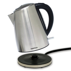 Chef's Choice Cordless Electric Kettle M681, detaching from base