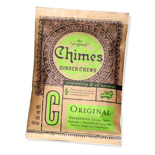 Chimes Original Ginger Chews, 5 oz packet