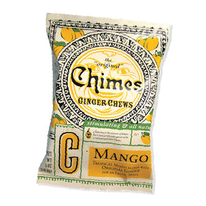 Chimes Mango Ginger Chews, 5 oz Packet
