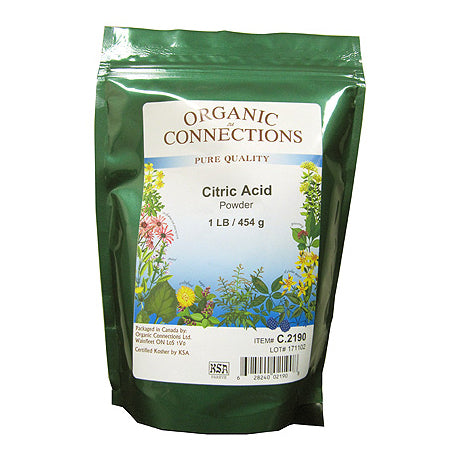 Organic Connections - Citric Acid Powder