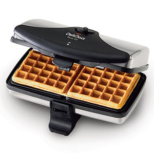 Chef's Choice Model 852 Classic WafflePro in use