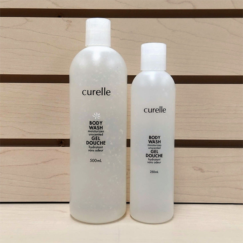 Curelle Natural Unscented Body Wash