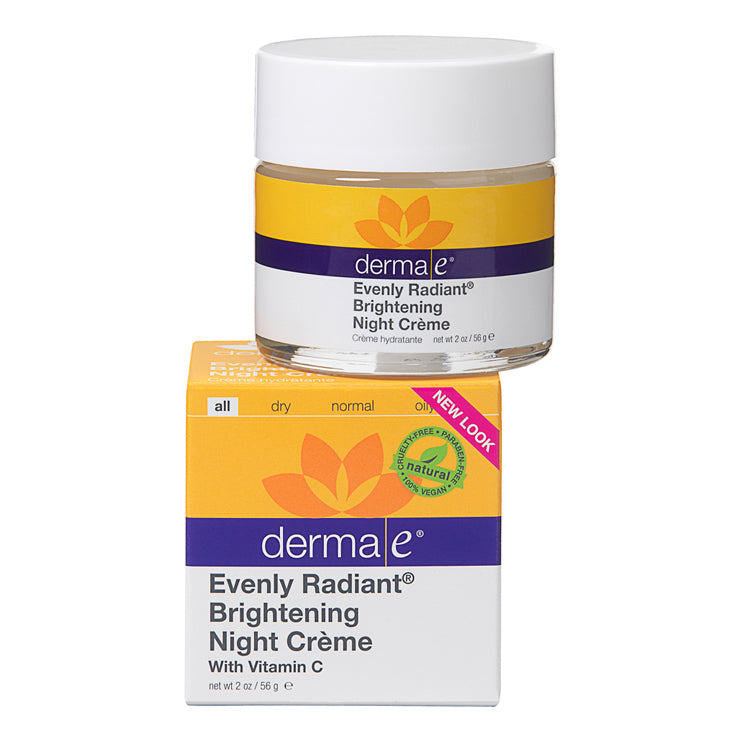 Derma E Evenly Radiant Brightening Night Creme