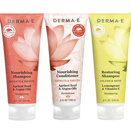 Derma E - Nourishing & Restoring Hair Care