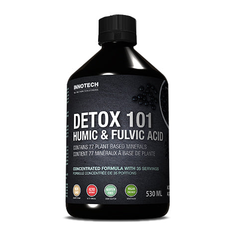 InnoTech Nutrition - Detox 101 with Humic and Fulvic Acid