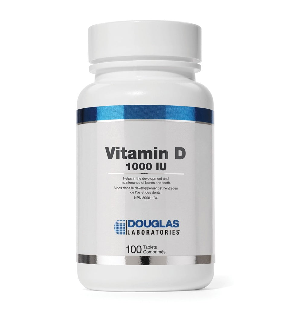 Douglas Laboratories - Vitamin D 1000 IU