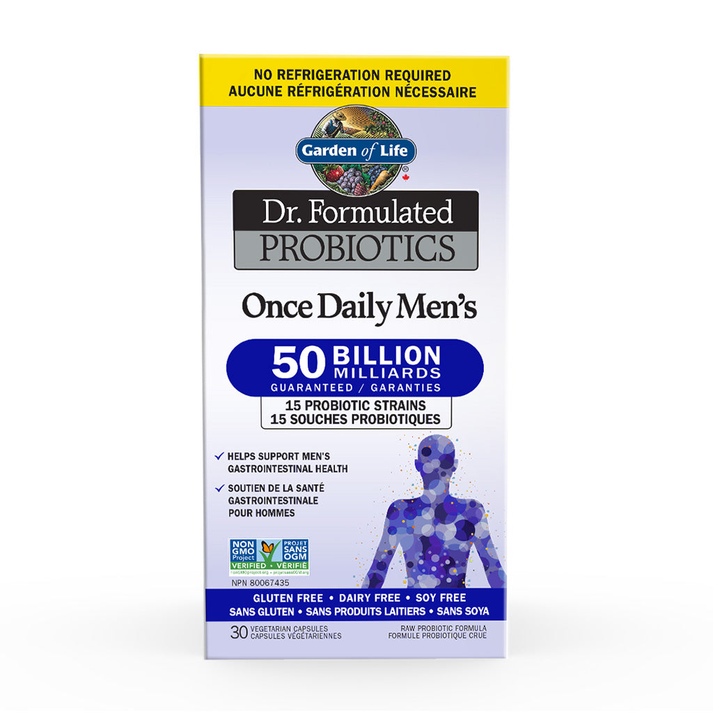 Garden of Life - Dr. Formulated Probiotics - Once Daily Men's