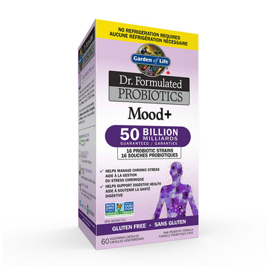 Garden of Life - Dr. Formulated Probiotics - Mood+