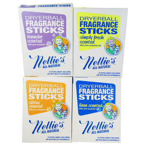 Nellie's - All-Natural Dryerball Fragrance Sticks (Simply Fresh Scent)
