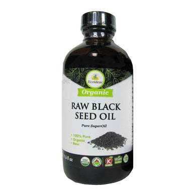 Ecoideas Organic Raw Black Seed Oil