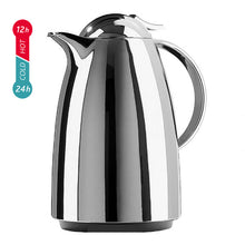 Load image into Gallery viewer, EMSA Auberge Quick-Tip Chrome Vacuum Jug, 1.5 Litre Size