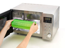 Placing a Lekue Steam Case in a microwave
