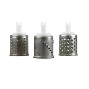 All 3 Ankarsrum Assistent Replacement Vegetable Cutter Drums