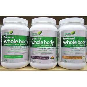 Genuine Health - Fermented Whole Body Nutrition with Greens+